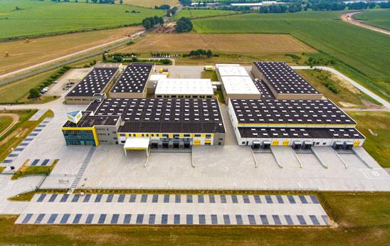 Eröffnung des erweiterten Logistikcenters am Iden Standort Golßen 2016