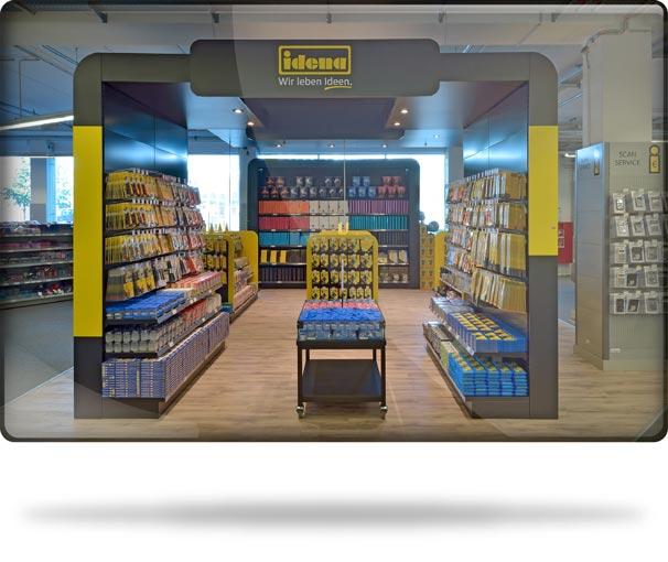 Der Idena Shop-in-Shop im Standort Iden Berlin am Südkreuz