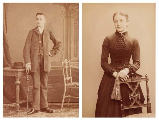 Das Gründerpaar Edmund und Berta Iden