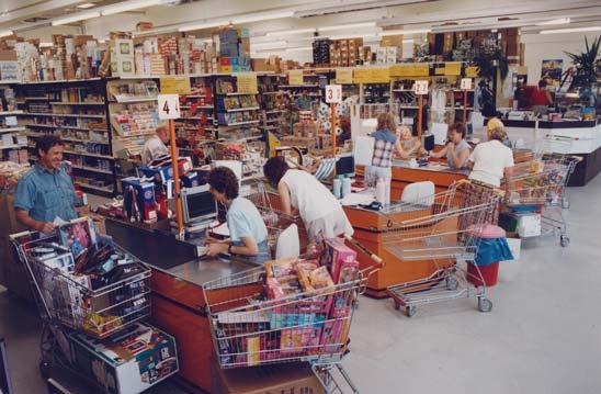 Besucherandrang in den Niederlassungen der Firma Iden 1996
