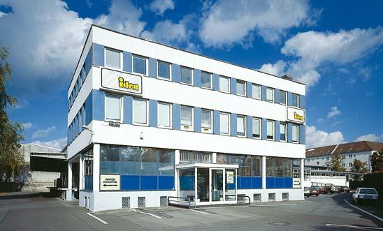 Schönerberger Standort des Hans Iden Großhandelshaus Berlin am Alboinplatz
