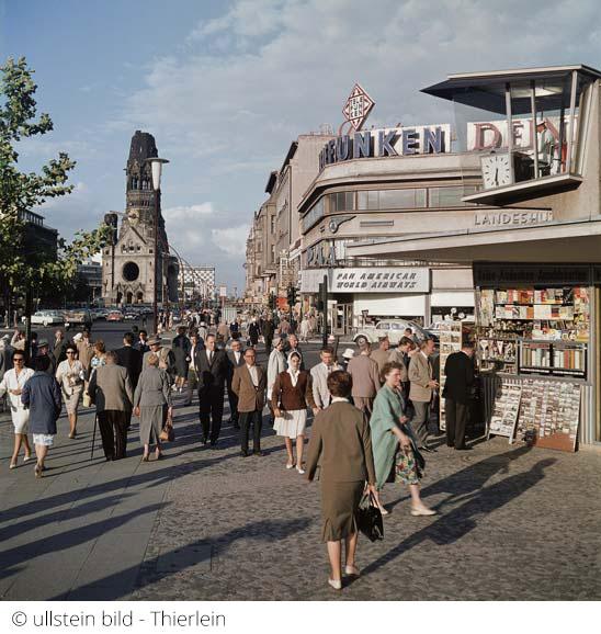 Kurfürstendamm und Gedächtniskirche um 1953