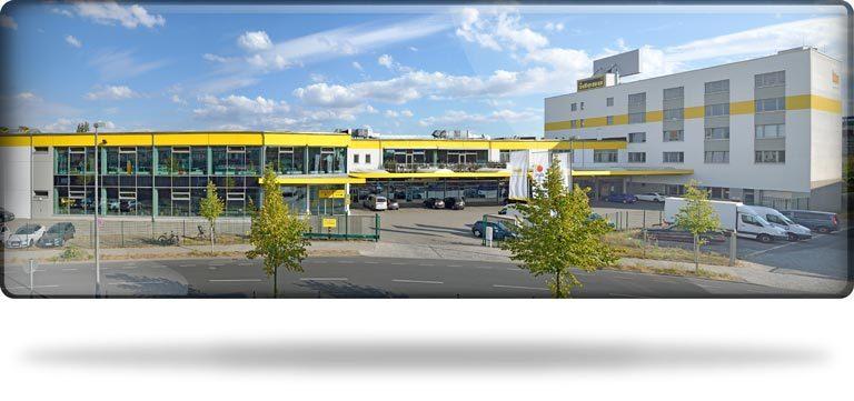 Panorama vom Standort Iden Berlin am Südkreuz
