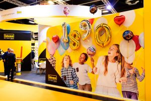 Messe Insights-X Folienballons